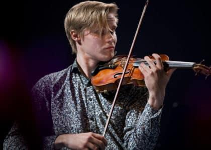 Carl Vallin. 2019 års Jan Wallanderpristagare.